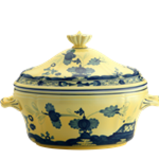 Richard Ginori Richard Ginori Oriente Italiano Oval Tureen- Citrino