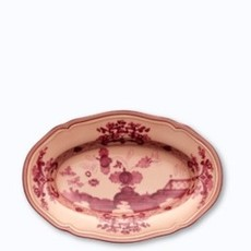 Richard Ginori Richard Ginori Oriente Italiano Pickle Dish Vermiglio