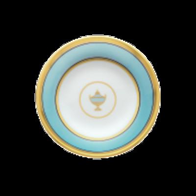 Richard Ginori Richard Ginori Contessa Tea Saucer - Lt Blue