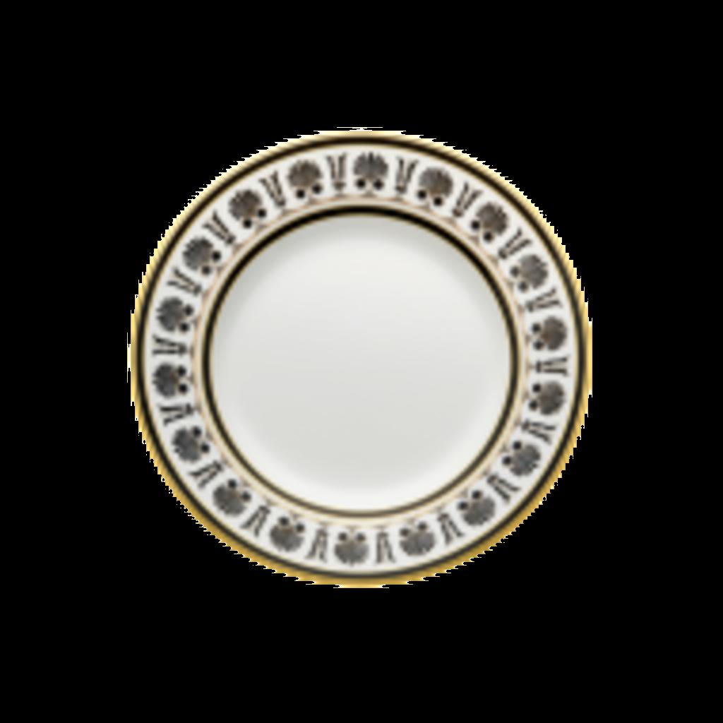 Richard Ginori Richard Ginori Palmette Dessert Plate- Nero