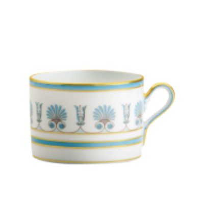 Richard Ginori Richard Ginori Palmette Tea Cup - Indaco
