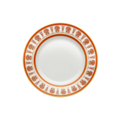 Richard Ginori Richard Ginori Palmette Dessert Plate- Scarlatto