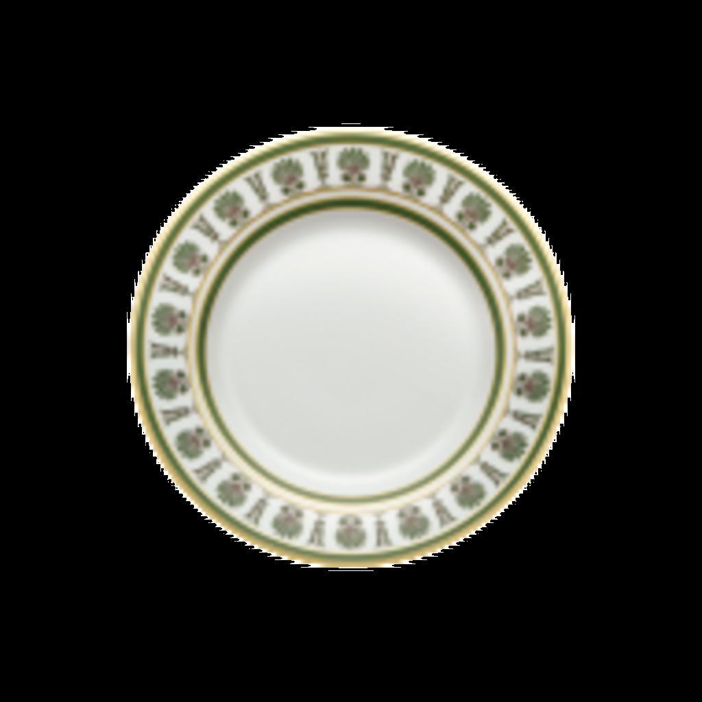 Richard Ginori Richard Ginori Palmette Dessert Plate - Smeraldo