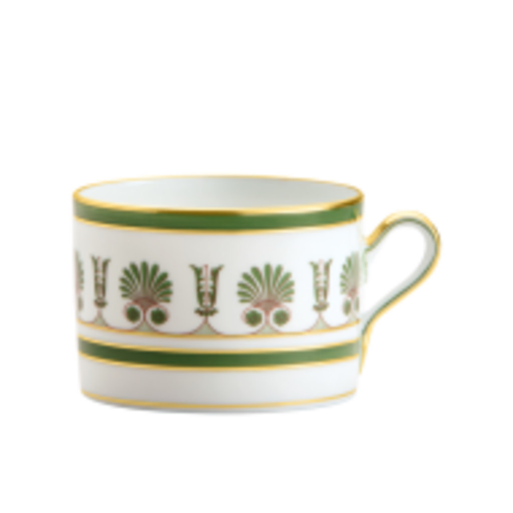 Richard Ginori Richard Ginori Palmette Tea Cup - Smeraldo