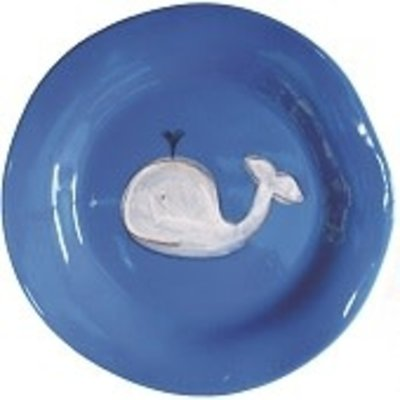 Alex Marshall Alex Marshall Whale Plate in Blue