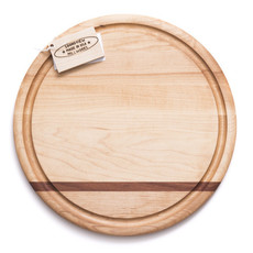 Soundview Millworks Soundview Millworks Circle Serving Board Board - Single Stripe
