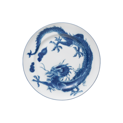Mottahedeh Mottahedeh Blue Dragon Dinner Plate
