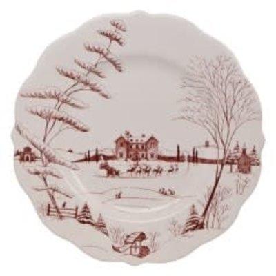 Juliska Juliska Country Estate Ruby Scalloped Dinner Plate