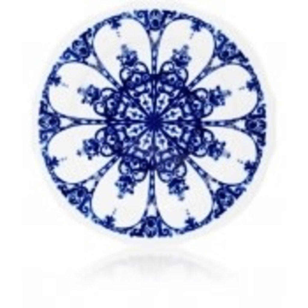 Richard Ginori Richard Ginori Babele Dessert Plate- Duchessa-Blue