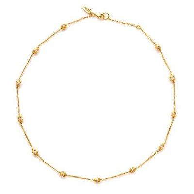 Julie Vos Julie Vos Penelope Gold/Pearl Station Necklace