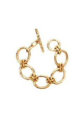 Julie Vos Julie Vos Grande SoHo Link Bracelet Gold