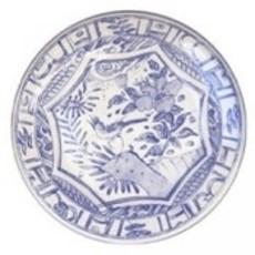 Gien France Gien Oiseau Bleu Canape Plate S/4