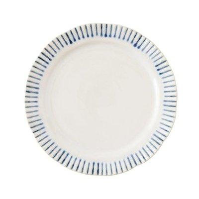 "Juliska Juliska Sitio Stripe Salad Plate- 9"""
