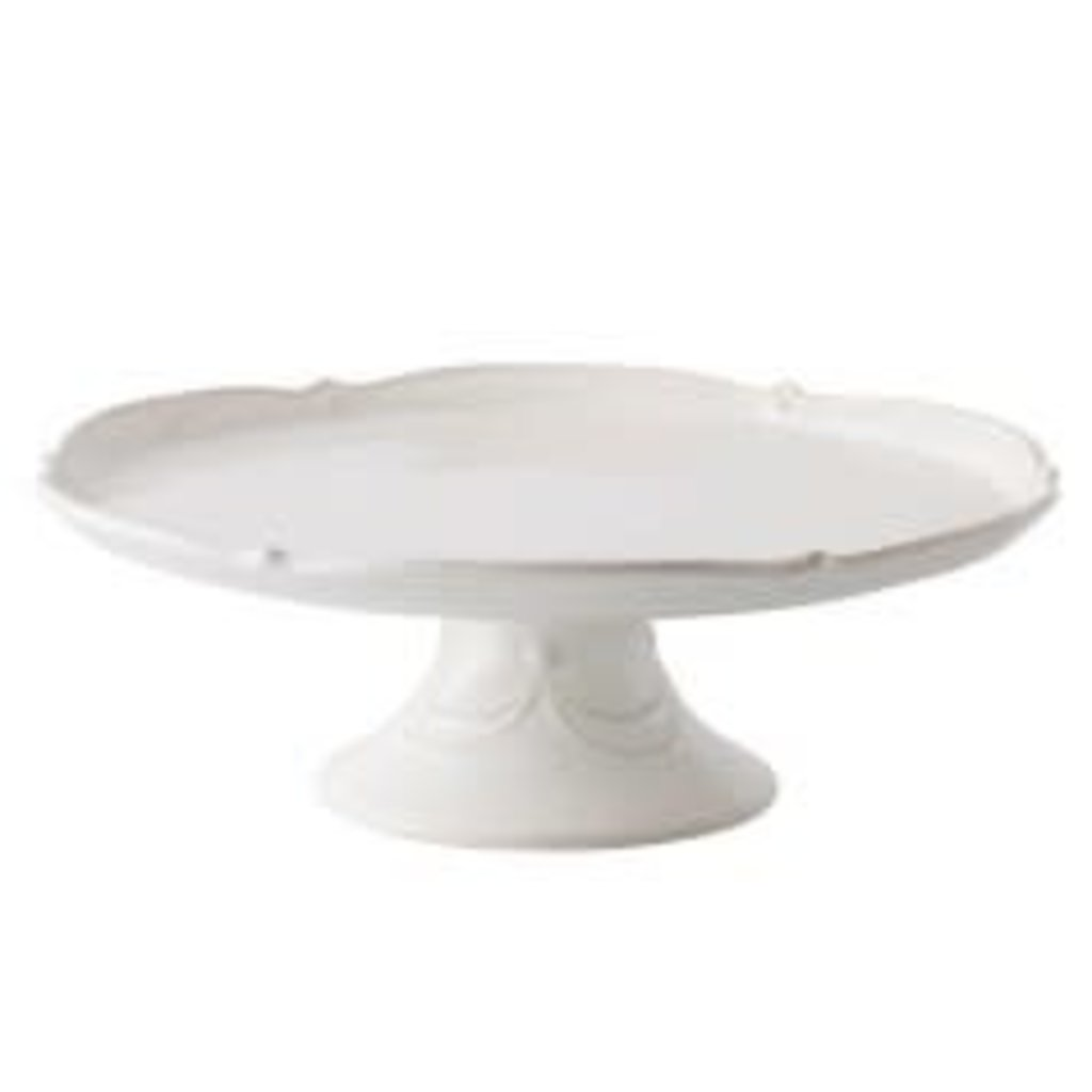 "Juliska Juliska Berry & Thread 14"" Cake Stand - Whitewash"