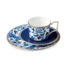 Wedgwood Wedgewood Hibiscus Teacup & Saucer Set