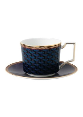 Wedgwood Wedgewood Byzance Teacup & Saucer Set