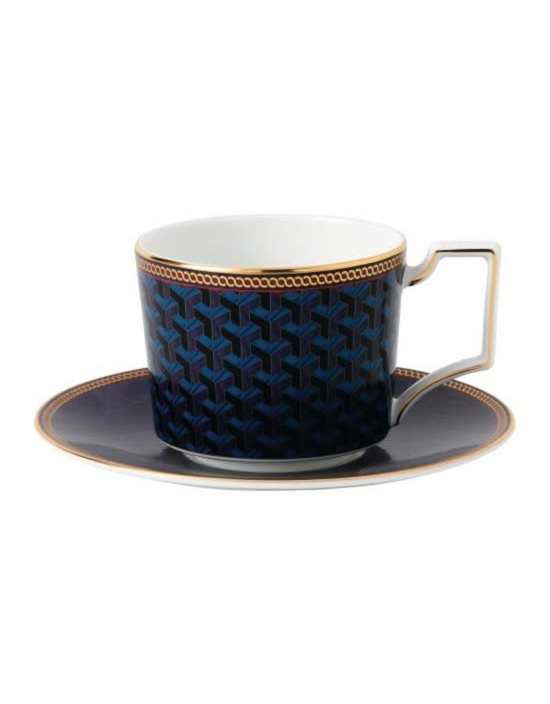 Wedgwood Wedgewood Byzance Teacup Saucer Set
