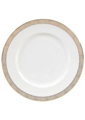 Vera Wang Vera Wang Gilded Weave Dinner Plate