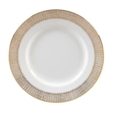 """Vera Wang Vera Wang Gilded Weave Salad Plate 8"""" Gold"""