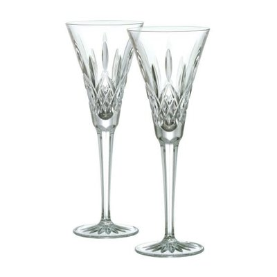 Waterford Waterford Lismore Toasting Flutes Pair