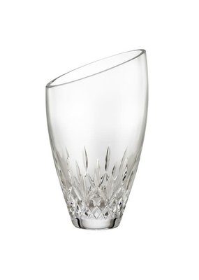 "Waterford Waterford Lismore Angular Vase 9"""