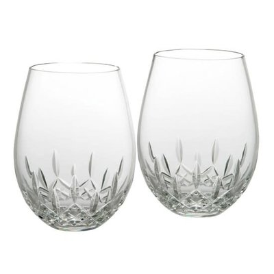 Waterford Waterford Lismore Stemless Red Wine/Pair