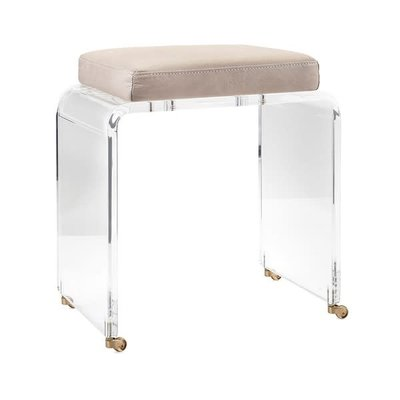 Nakasa Nakasa Lambert Acrylic & Leather Stool