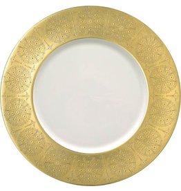 Pickard Pickard Eisenhower Charger Plate- Gold