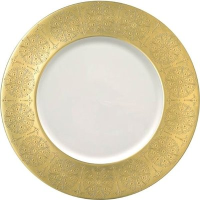 Pickard Pickard Eisenhower Charger Plate- Gold