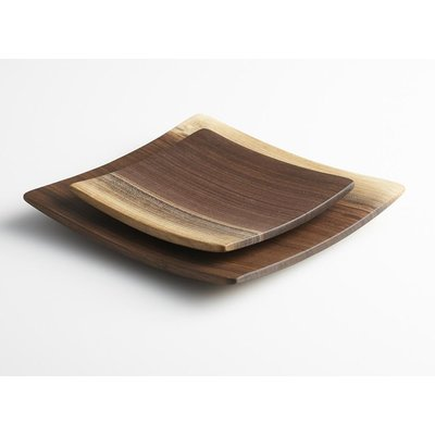 Andrew Pearce Andrew Pearce Black Walnut Wood Plate 9""