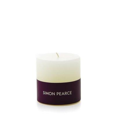Simon Pearce Simon Pearce Ivory Pillar Candle (3x3)