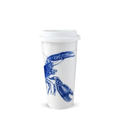 Caskata Caskata Lobsters Travel Mug - Blue
