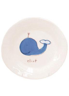 Alex Marshall Alex Marshall Silhouette on White Plate