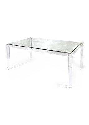 Nakasa Nakasa Vesparo Acrylic/Glass Dining Table
