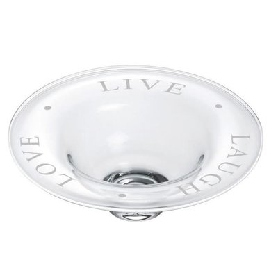 Simon Pearce Simon Pearce Pre- Engraved Medium Celebration Bowl - Live, Laugh, Love