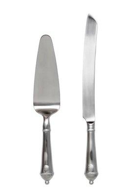 Juliska Juliska B&T Bright Satin Cake Knife & Server Set