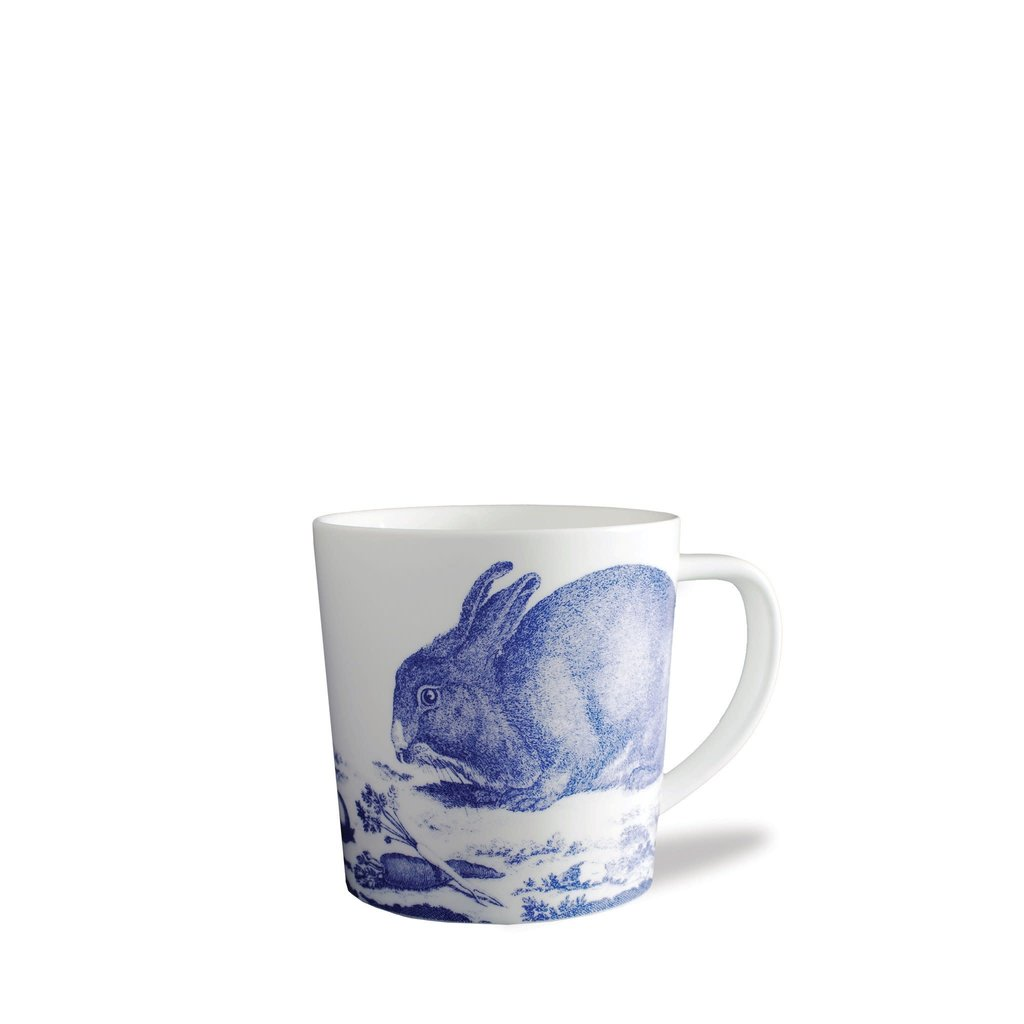 Caskata Caskata Blue Bunnies 14 oz Wide Mug