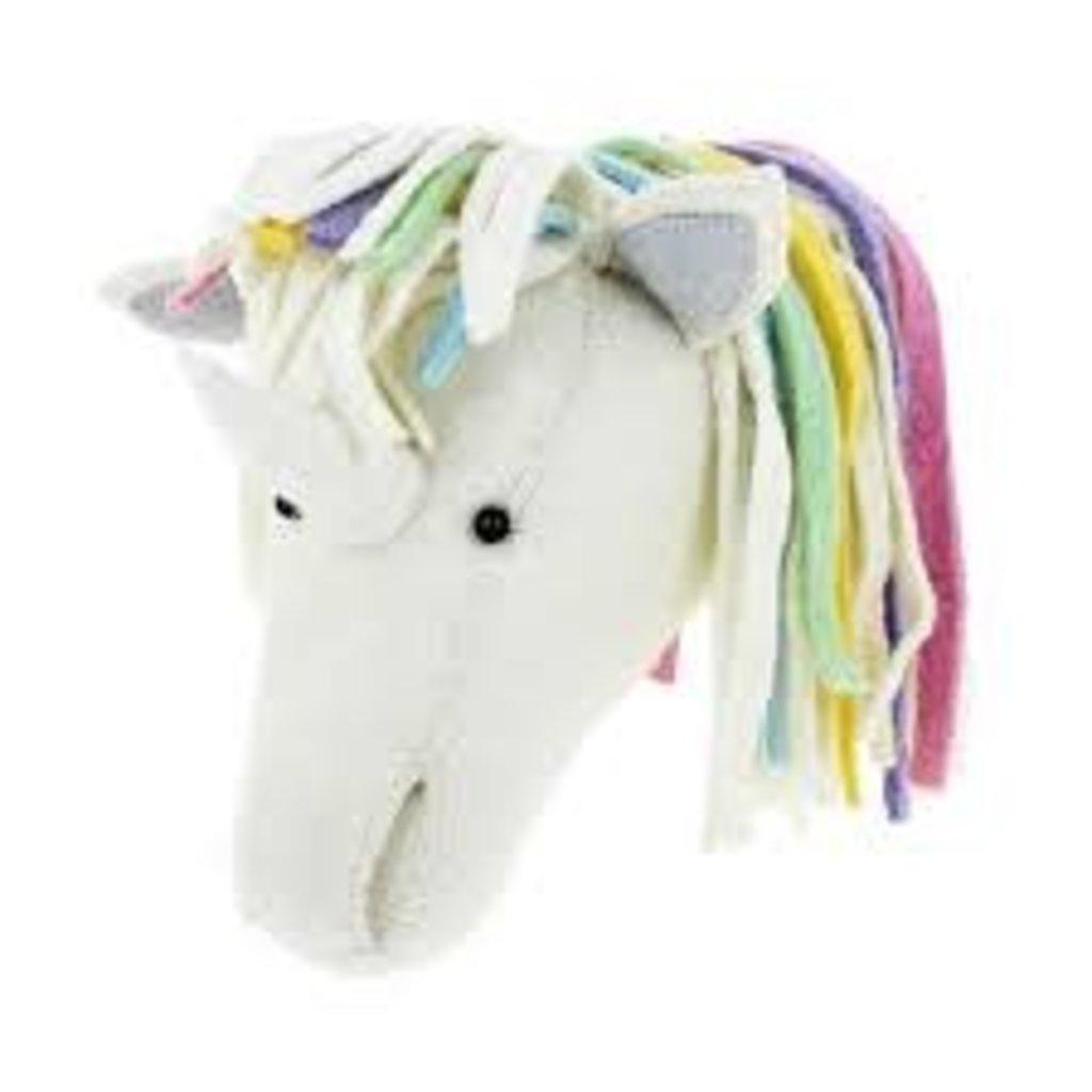 Fiona Walker Fiona Walker Unicorn Head Pastel Rainbow