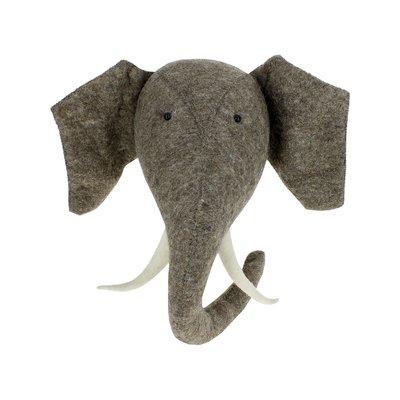 Fiona Walker Fiona Walker Elephant Head with Tusks