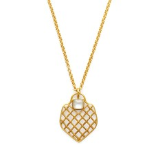 Julie Vos Julie Vos Loire Pendant Necklace Clear Crystal