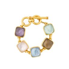 Julie Vos Julie Vos Catalina Stone Bracelet Multi-Stone