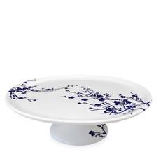 "Caskata Caskata Cake Pedestal Flowering Quince Blue 12.25"""