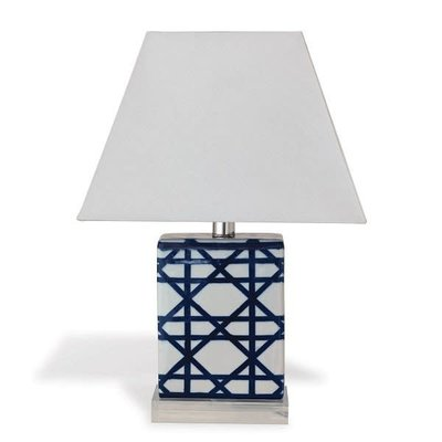 Port 68 Port 68 Gazebo Navy Mini Lamp (set/2) 17.5""