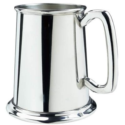 Salisbury Salisbury Glass Bottom Tankard