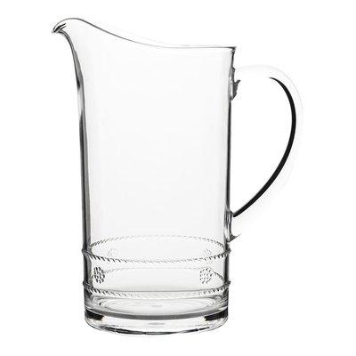 "Juliska Juliska Isabella Pitcher Acrylic Clear 11""H"