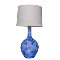 Simon Pearce Simon Pearce Crystalline Lamp (Cobalt) Shade Sold Separate
