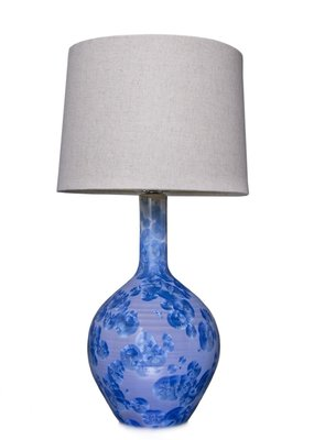 Simon Pearce Simon Pearce Crystalline Lamp (Cobalt) Shade Sold Separate