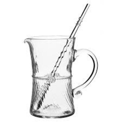 "Juliska Juliska Graham Bar Pitcher Clear 7""H"