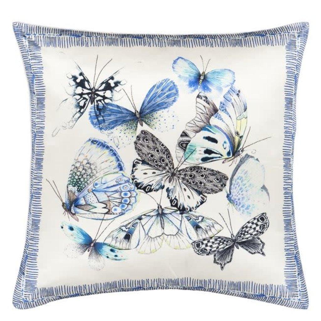 Designers Guild Designers Guild Papillons Cobalt Pillow 20x20