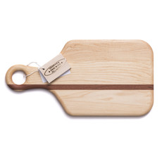 Soundview Millworks Soundview Millworks Small Cheese Board with Handle (SINGLE STRIPE- NOT ENGRAVED)